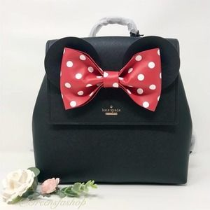 New Kate Spade Minnie Mouse Small Backpack